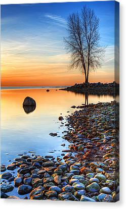 Morning Reflections  Canvas Print by James Marvin Phelps