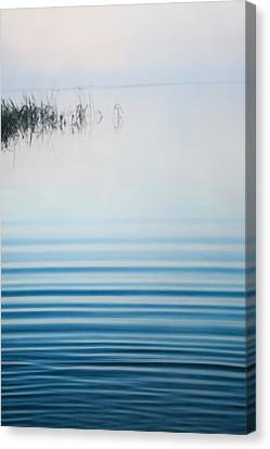 Foggy Day Canvas Print - Morning Ripples by Parker Cunningham