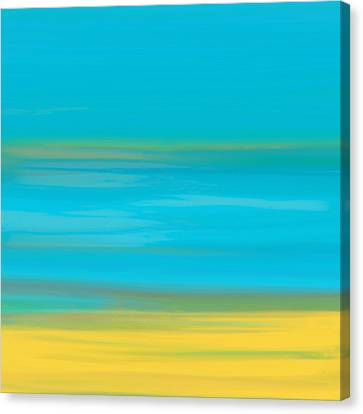 Morning Sea Canvas Print by Frank Tschakert