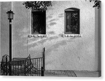 Canvas Print featuring the photograph Morning Shadows by Monte Stevens