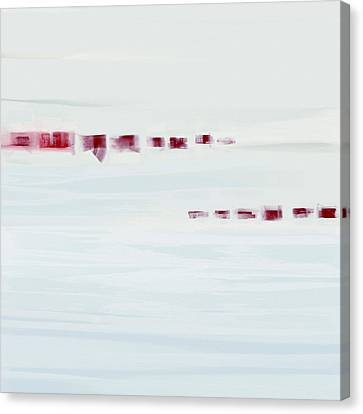 Morning Shore Canvas Print