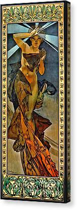 Morning Star 1902 Canvas Print by Padre Art