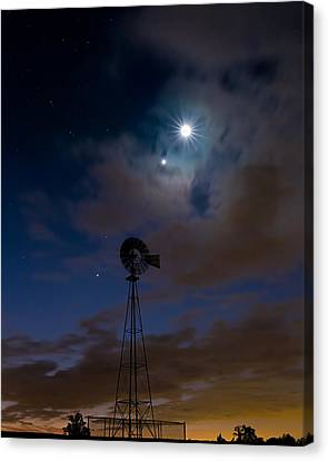 Solar System Canvas Print - Morning Stars by Bill Wakeley