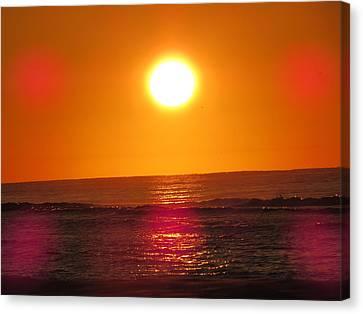 Morning Sun Break Canvas Print