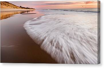 Surf Canvas Print - Morning Tide by Bill Wakeley