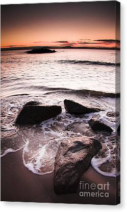 Canvas Print featuring the photograph Morning Tide by Jorgo Photography - Wall Art Gallery