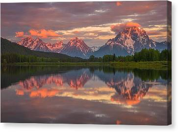 Morning Tranquillity  Canvas Print