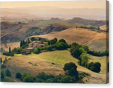 Morning View Canvas Print by Mauro Maione