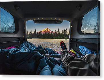 Morning Views Canvas Print by Alpha Wanderlust