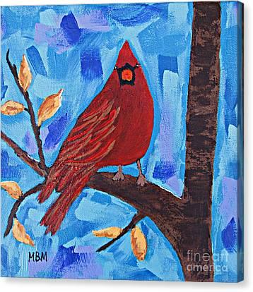 Morning Visit Canvas Print