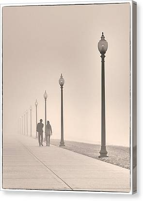 Morning Walk Canvas Print by Don Spenner