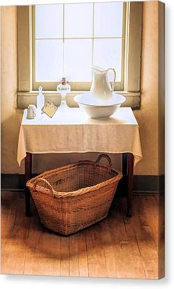 Morning Window At Old World Wisconsin Canvas Print by Christopher Arndt