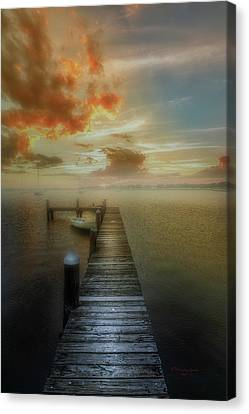 Mornings First Light Canvas Print by Marvin Spates