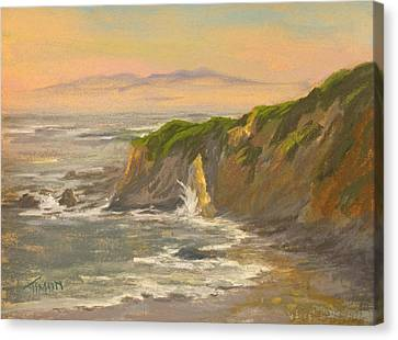 Morning's Highlight Canvas Print by Timon Sloane