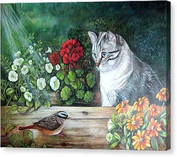 Morningsurprise Canvas Print by Patricia Schneider Mitchell