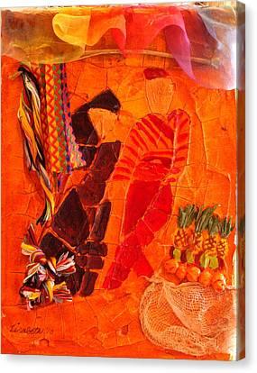 Moroccan Bazaar Canvas Print