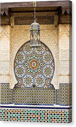 Moroccan Fountain Canvas Print by Tom Gowanlock