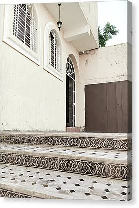 Moroccan House Canvas Print