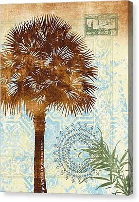 Middle East Canvas Print - Moroccan Palms 1 by Malcolm  Watson