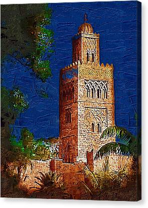 Morocco Pavilion In Epcot Canvas Print