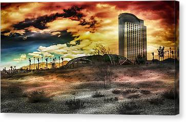 Morongo Casino Sunset Canvas Print
