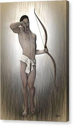 Morpheus Myth Canvas Print