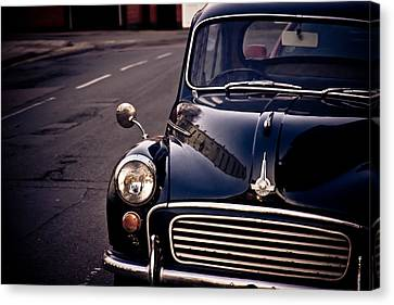 Morris Minor Canvas Print by Justin Albrecht