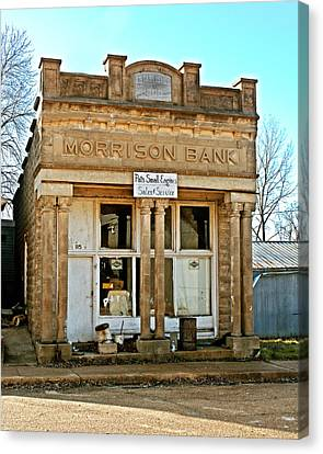 Morrison Bank Canvas Print