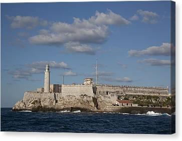 Morro Castle Havana Cuba Was Built Canvas Print by Everett
