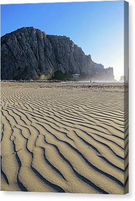 Morro Rock Canvas Print by Connor Beekman
