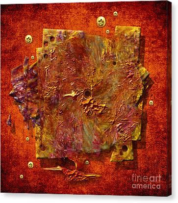Mortar Disc Canvas Print