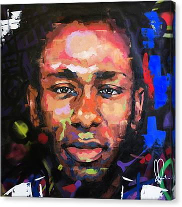 Jay Z Canvas Print - Mos Def by Richard Day