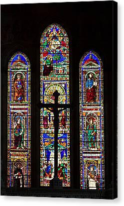 Cristian Church Canvas Print - Mosaic by Davide Guidolin