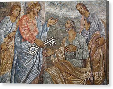 Mosaic Canvas Print by Milena Boeva
