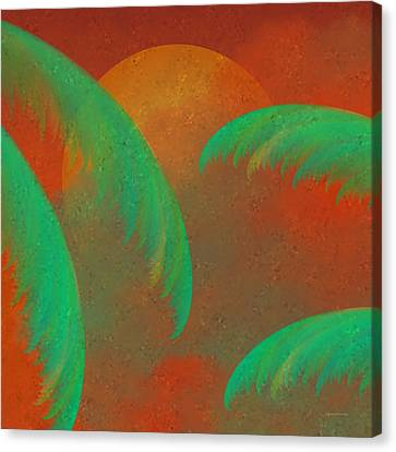 Mosaic Sunrise Canvas Print