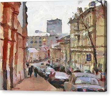 Moscow 14 Canvas Print by Yury Malkov
