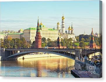 Moscow, Kremlin Canvas Print