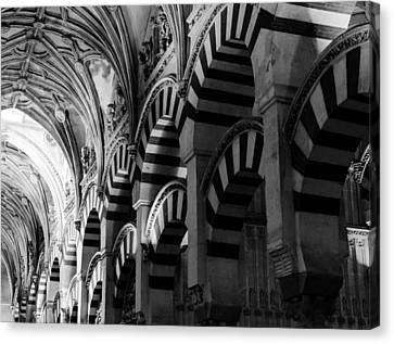 Mosque Cathedral Of Cordoba 6 Canvas Print