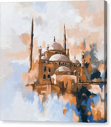 Mosque Of Muhammad Ali Pasha 418 II Canvas Print by Mawra Tahreem