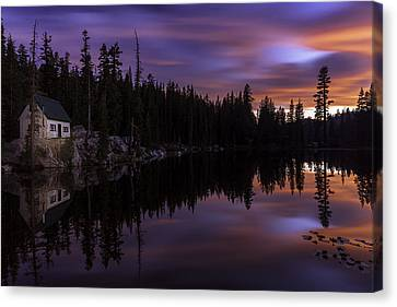 Mosquito Lake Sunset Canvas Print