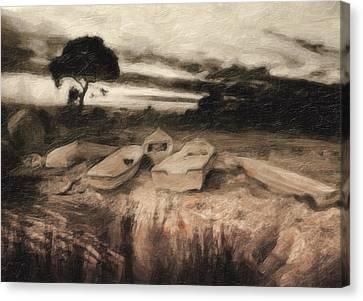 Moss Canvas Print by Taylan Apukovska