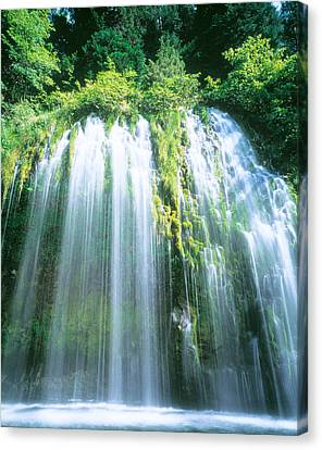 Sacramento Canvas Print - Mossbrae Falls Ca Usa by Panoramic Images