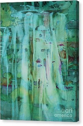 Canvas Print - Mossy Falls by Elizabeth Carr