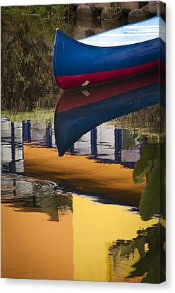 Canvas Print featuring the photograph Mostly Primary by Kevin Bergen