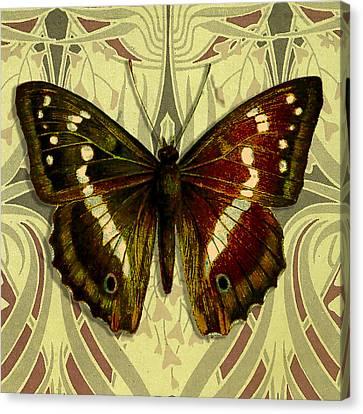Claret Canvas Print - Moth 18 by Robert Todd