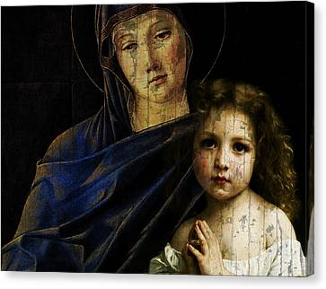 Prayer Canvas Print - Mother And Child Reunion  by Paul Lovering
