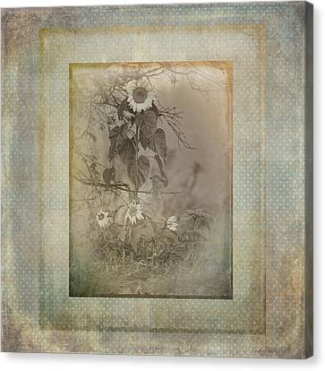 Mother And Child Reunion Vintage Frame Canvas Print