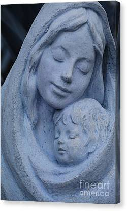 Mother And Child Canvas Print by Susanne Van Hulst
