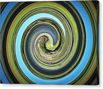 Mother Earth Canvas Print by Scott Haley