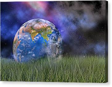 Mother Earth Series Plate4 Canvas Print by Betsy Knapp